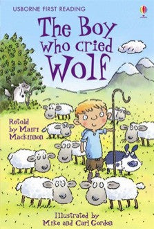 First Reading Level 3 The Boy Who Cried Wolf