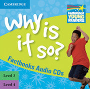 Why Is It So? Levels 3–4 Factbook Audio CDs (2)