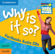 Why Is It So? Levels 5-6 Factbook Audio CDs (2)