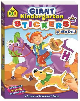 Giant Kindergarten Stickers & More