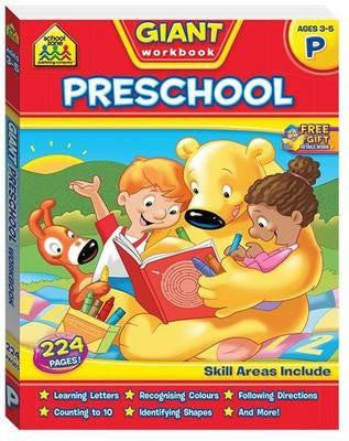 Giant Workbook Preschool