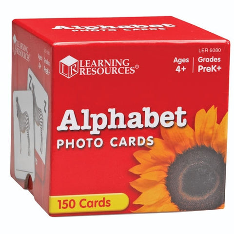 Alphabet Photo Cards