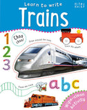 Learn To Write Trains