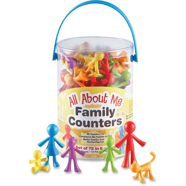 All About Me Family Counters