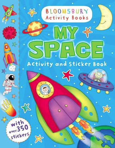 My Space Activity and Sticker Book.