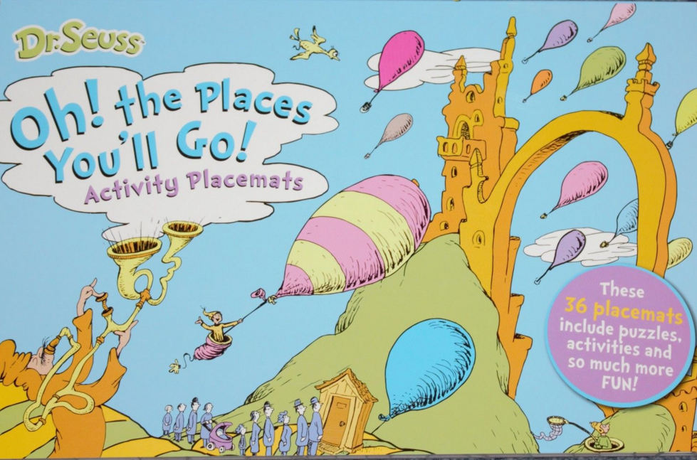 Oh! The Places You'll Go! Activity Placemats