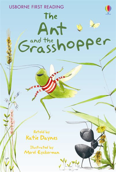 First Reading Level 1 The Ant and the Grasshopper