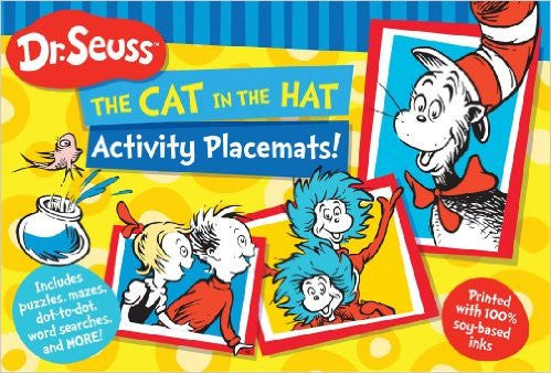 The Cat in the Hat Activity Placemats!