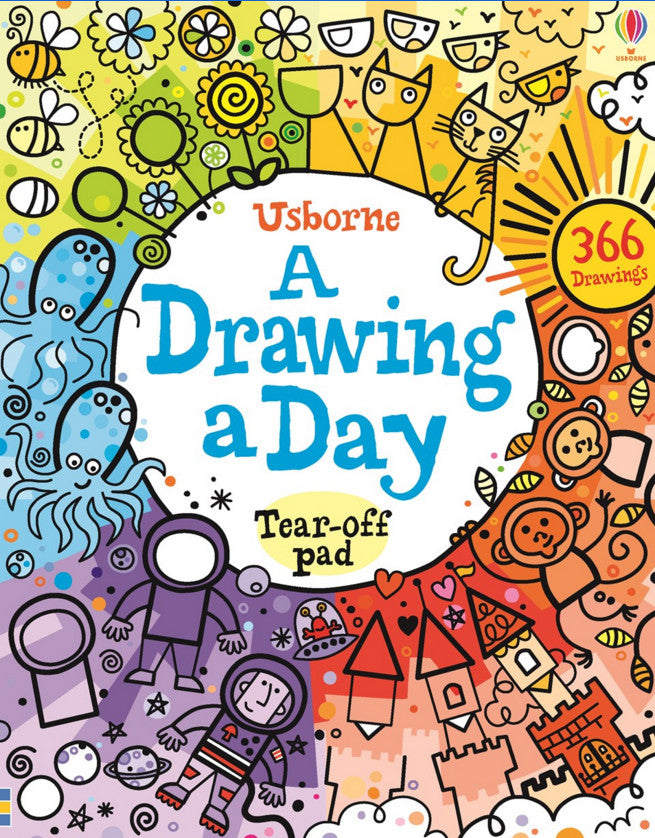 Usborne A Drawing A Day Tear-Off Pad