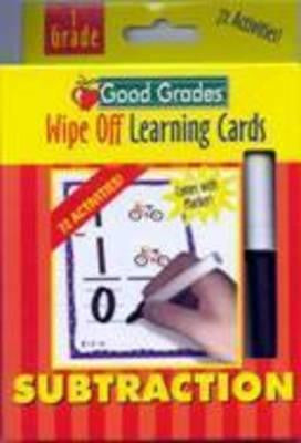 Write and Wipe Subtraction Learning Cards