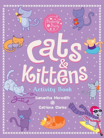 Cats and Kittens Activity Book