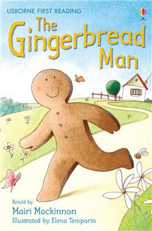 First Reading Level 3 The Gingerbread Man