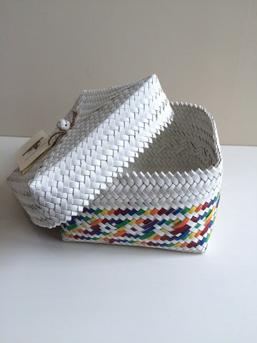 Penan Storage Basket - Multicolour - PICK UP ONLY