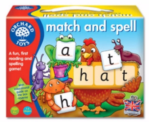 Match and Spell