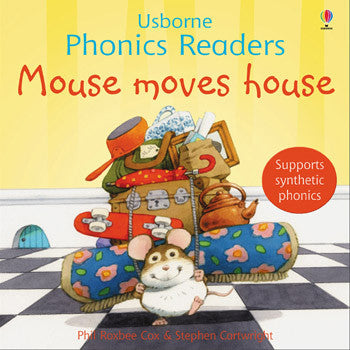 Phonics Readers: Mouse Moves House