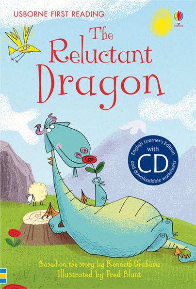 First Reading Level 4 - The Reluctant Dragon (with Audio CD)