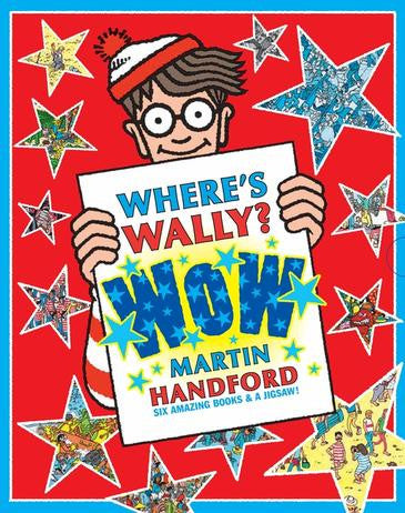 Where's Wally? WOW - 6 Books + Jigsaw Set