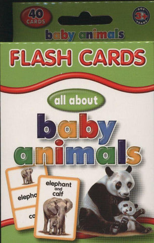 All About Baby Animals Flash Cards
