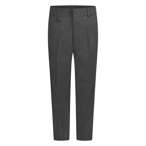Grey Standard Fit Trousers (Regular fit)