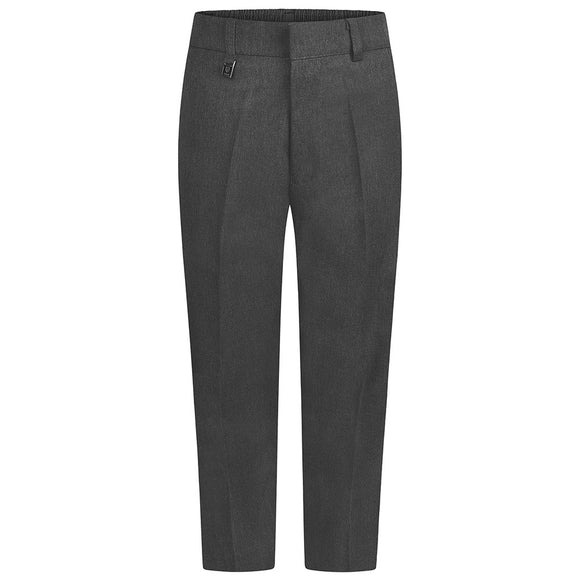 Grey Sturdy Fit Boys Trousers