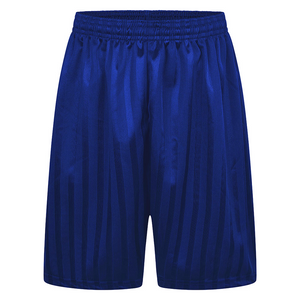 Royal Blue Shadow Striped Football PE Shorts