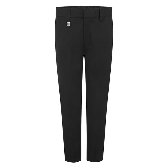 Black Standard Fit Trouser (Regular fit)