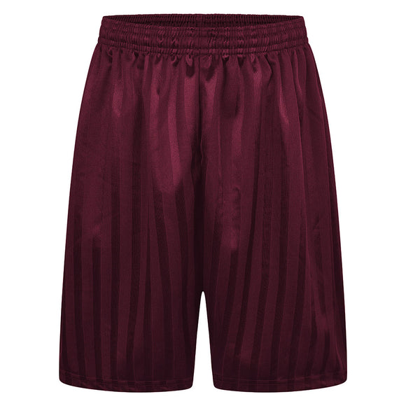 Ilderton Maroon Primary PE Shorts