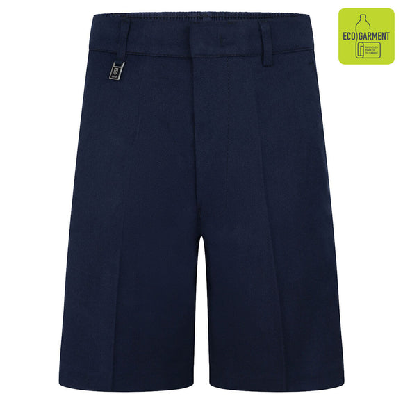 Navy Standard Fit Shorts (Regular fit)