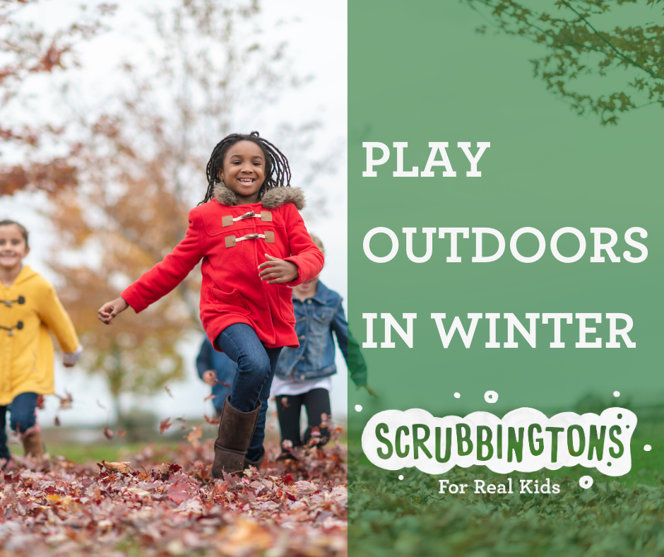 Play Outdoors In Winter