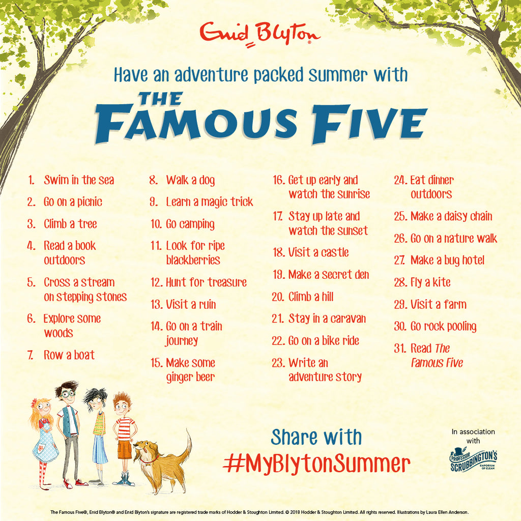 My Blyton Summer
