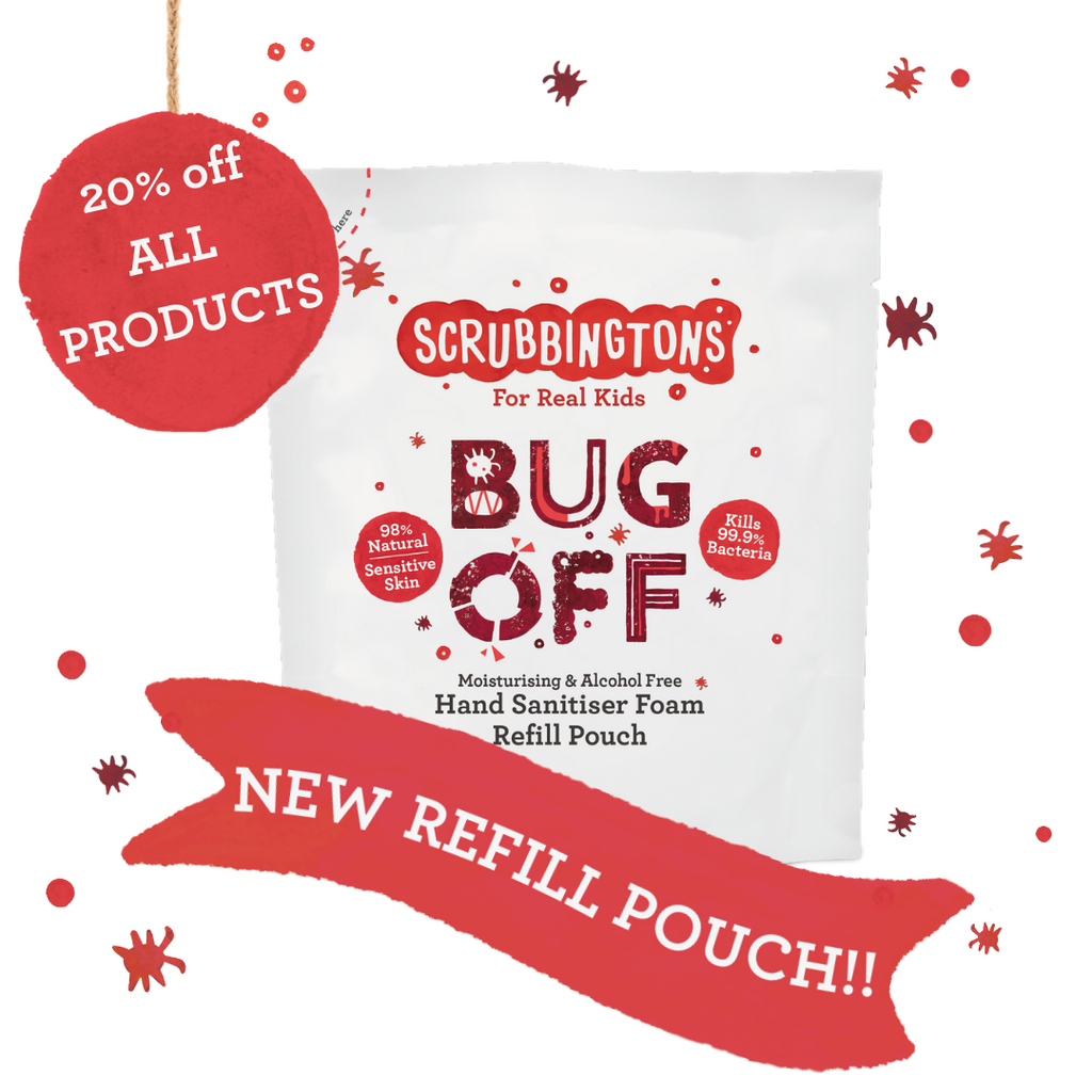 New Refill Pouch - Save 20% off the entire store!