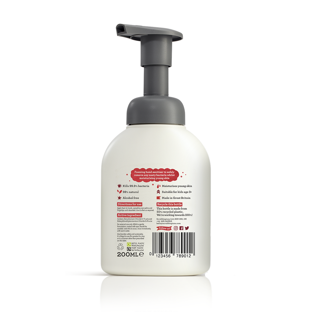 Scrubbingtons Hand Sanitiser - Bug off - 200ml