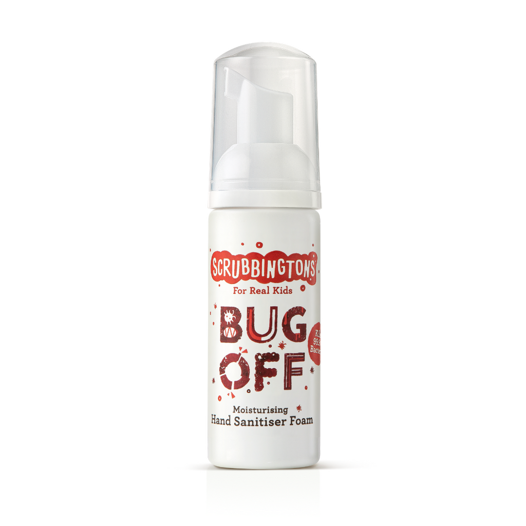 Scrubbingtons Hand Sanitiser - Bug off - 50ml