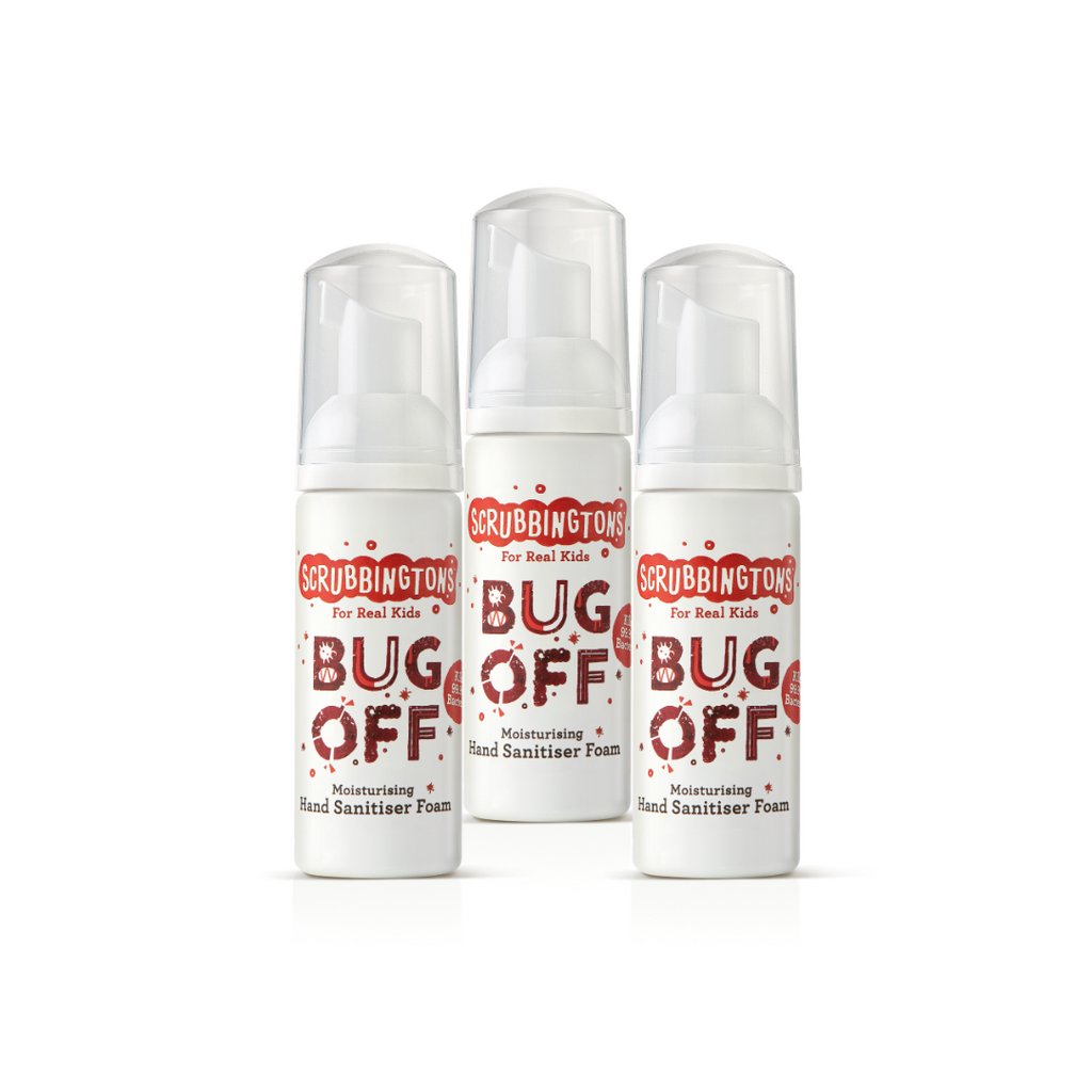 Hand Sanitiser - Bug off - Three of a Kind - 3 x 50ml