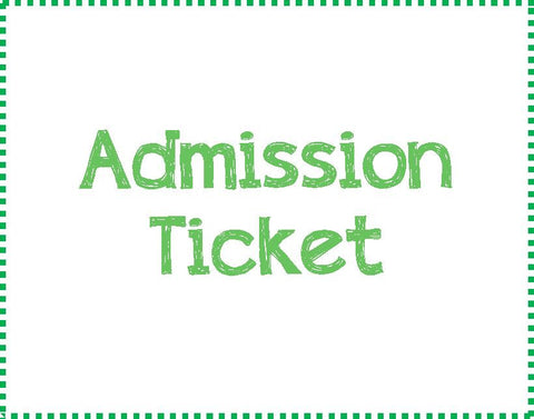 Admission Ticket - Thursday