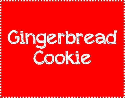 Gingerbread Cookie-Thursday