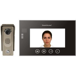 "7"" Video Intercom System Kit - Smart Access 1 Way - 2020CCTV"
