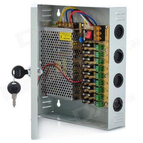 9 Camera Power Supply - 2020CCTV
