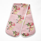 Artypants Apples Double Oven Glove - Pink
