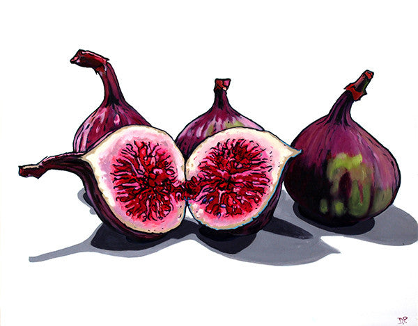 Artypants Fig Greeting Card