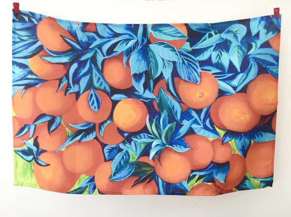 Artypants Oranges Tea Towel