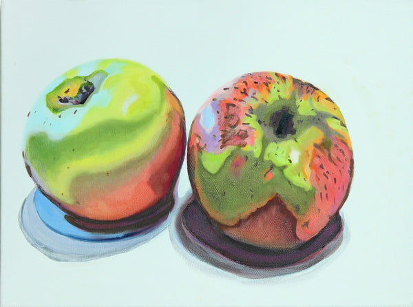 Artypants Two Apples Greeting Card