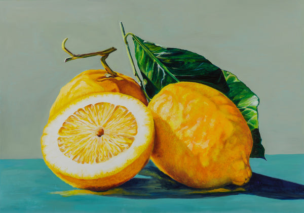 Artypants Greeting Card Sicilian Lemons