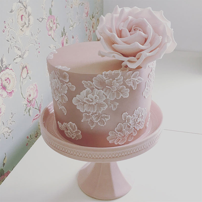 Brush Embroidery, Lustre & Roses