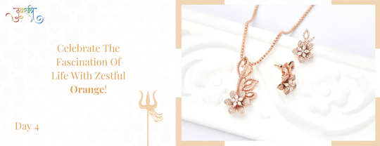 kushals.com - Day 4 Orange Jewellery Collection starting at just ₹1050