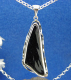 Natural sea washed whitby jet pendant from whitbyjet4u.com tel 01947 897166