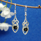 Large Celtic weave drops from www.whitby4u.com