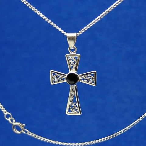 Tiny Filgree cross