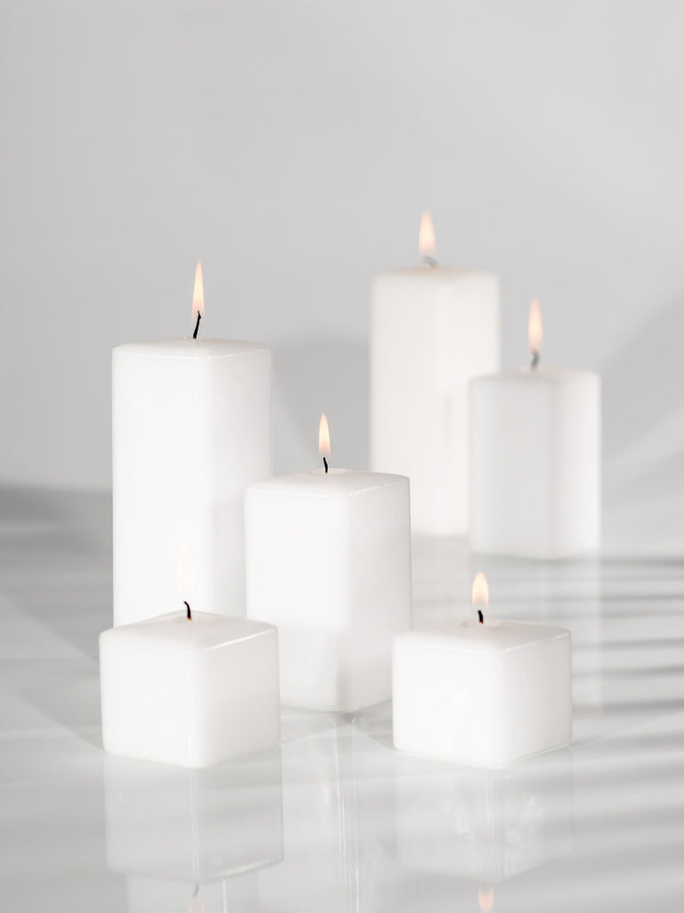 "2.25"" Square Pillar Candles"