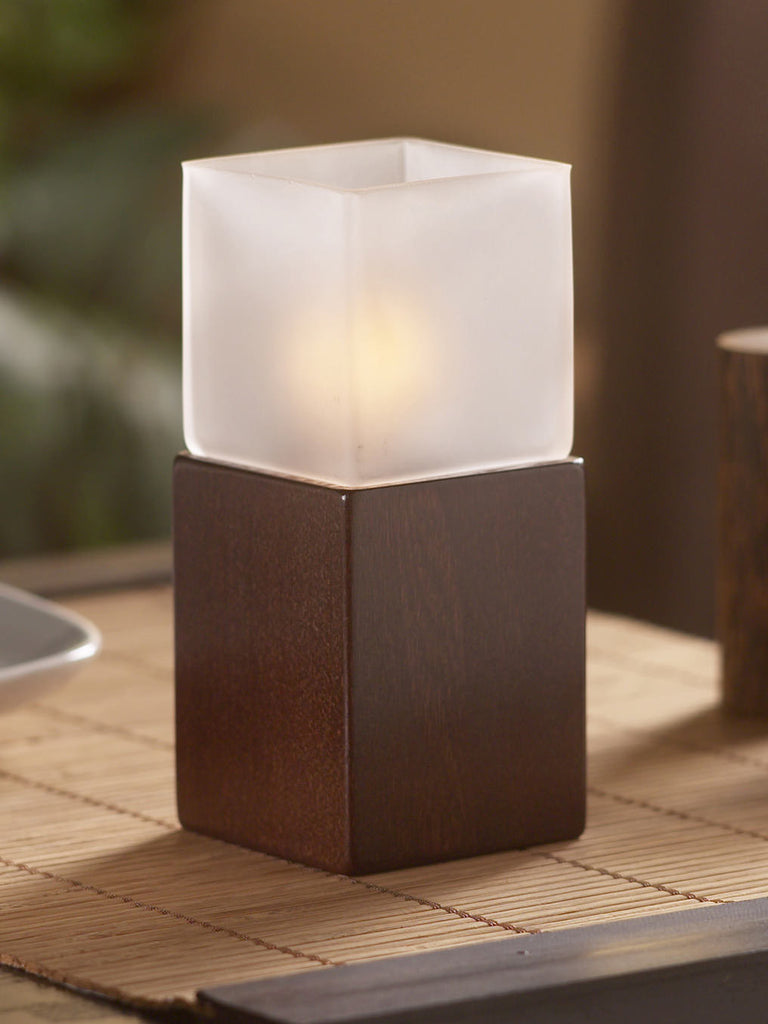 Wood Lamp - Matrix